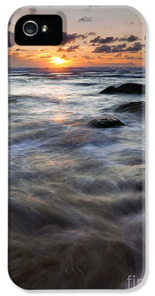 Hug iPhone 5 Cases - Hug Point Tides Swirl iPhone 5 Case by Mike  Dawson