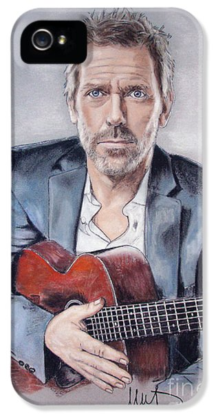 Hugh Laurie IPhone 5 / 5s Case by Melanie D