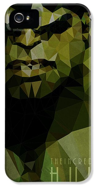 Cool iPhone 5 Cases - Hulk iPhone 5 Case by Daniel Hapi