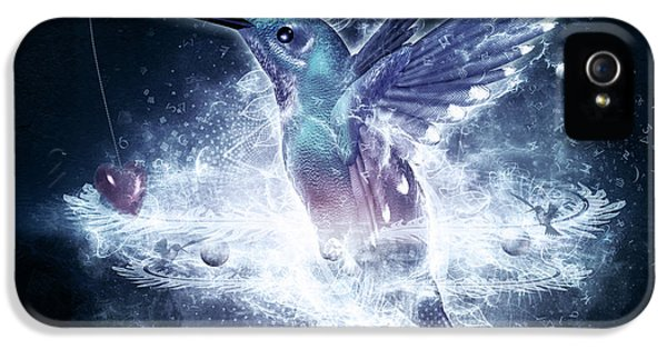 Hummingbird Print IPhone 5 / 5s Case by Cameron Gray