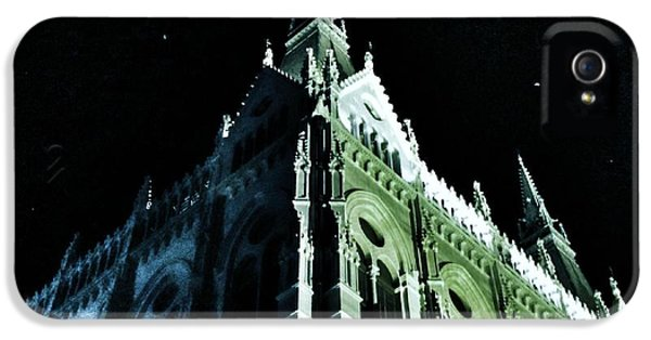 Meeting iPhone 5 Cases - Hungarian Parliament Building 2 - Budapest Hungary iPhone 5 Case by Marianna Mills