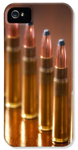 Ammunition iPhone 5 Cases - Hunting Ammunition iPhone 5 Case by Sinisa Botas