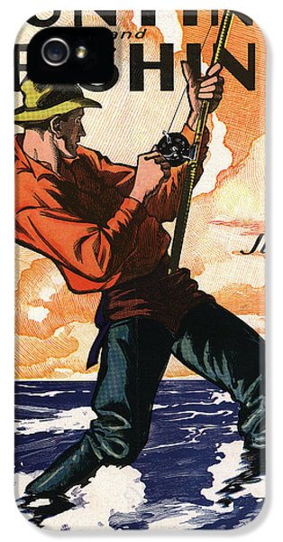 Fishing iPhone 5 Cases - Hunting and Fishing iPhone 5 Case by Gary Grayson
