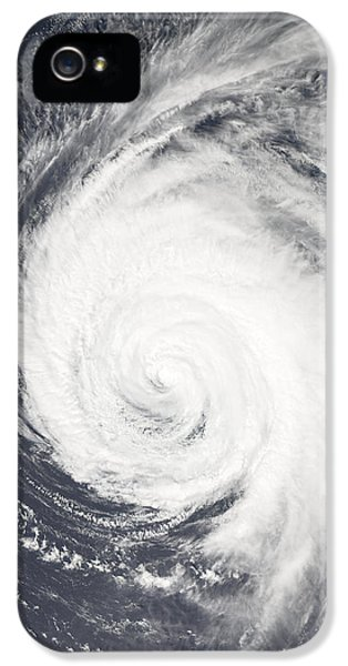 Blowing iPhone 5 Cases - Hurricane iPhone 5 Case by Unknown