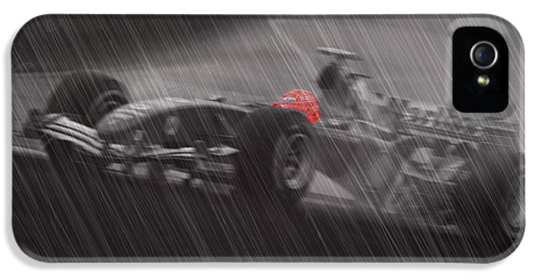 Michael Schumacher iPhone 5 Cases - I Always Thought records were meant to be broken iPhone 5 Case by Stephane Trahan