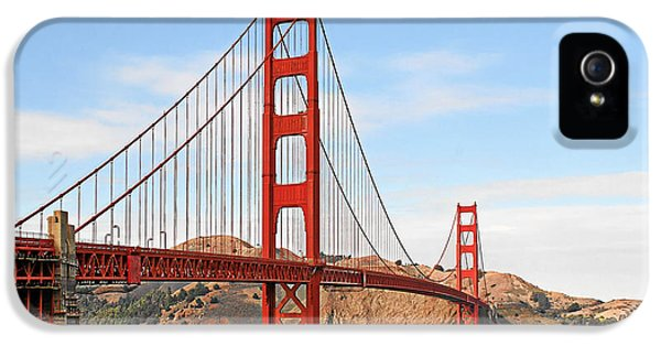 Engineering iPhone 5 Cases - I guard the California shore - Golden Gate Bridge San Francisco CA iPhone 5 Case by Christine Till