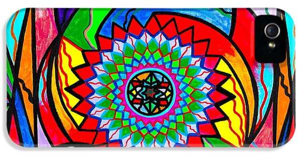 Geometric iPhone 5 Cases - I Trust Myself to Create iPhone 5 Case by Teal Eye  Print Store