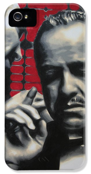 American Crime Film iPhone 5 Cases - I Want You To Kill Him 2013 iPhone 5 Case by Luis Ludzska