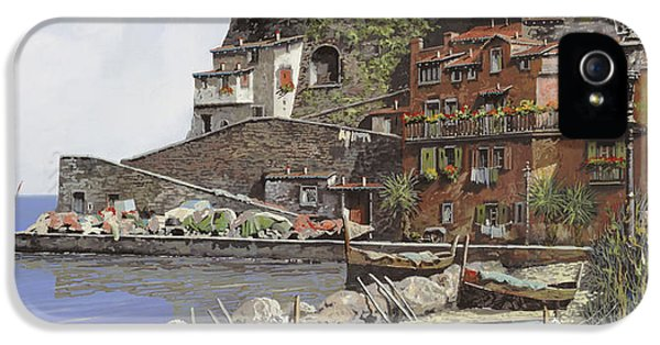 Harbour iPhone 5 Cases - il porto di Sorrento iPhone 5 Case by Guido Borelli