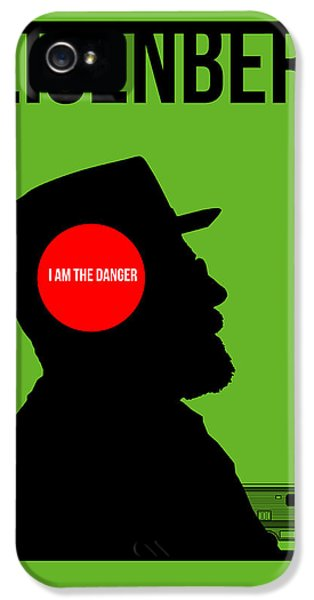 Bad iPhone 5 Cases - Im Danger Poster 1 iPhone 5 Case by Naxart Studio