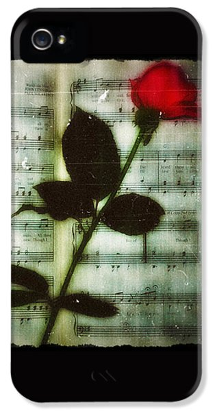 Musical iPhone 5 Cases - In My Life iPhone 5 Case by Bill Cannon