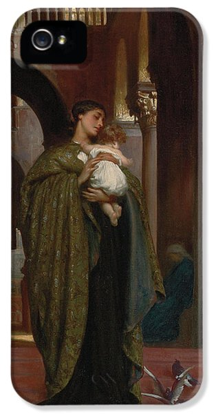 Dove iPhone 5 Cases - In St Marks iPhone 5 Case by Frederic Leighton