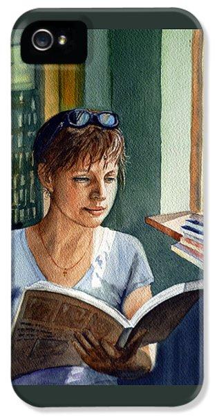 In The Book Store IPhone 5 / 5s Case by Irina Sztukowski