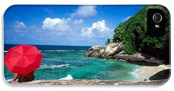 Indian Ocean iPhone 5 Cases - Indian Ocean Moyenne Island Seychelles iPhone 5 Case by Panoramic Images