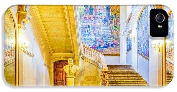 Exuberance iPhone 5 Cases - Inside Capitole de Toulouse iPhone 5 Case by Semmick Photo