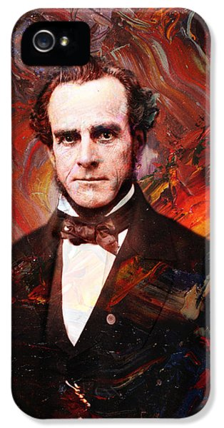 Historical iPhone 5 Cases - Intense Fellow 2 iPhone 5 Case by James W Johnson