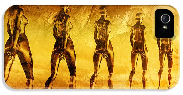 Scifi iPhone 5 Cases - Into The Light iPhone 5 Case by Photodream Art