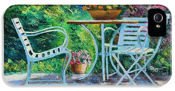 Jeans iPhone 5 Cases - Invitation to the Garden iPhone 5 Case by Jean-Marc Janiaczyk