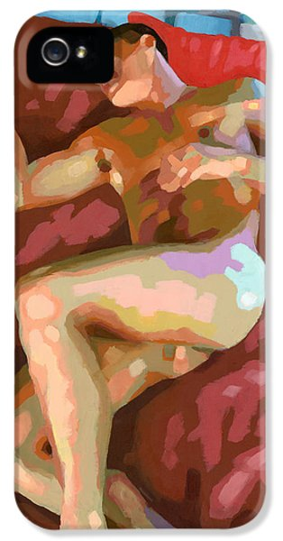 Fragment iPhone 5 Cases - Ipanema Towers 15 iPhone 5 Case by Douglas Simonson