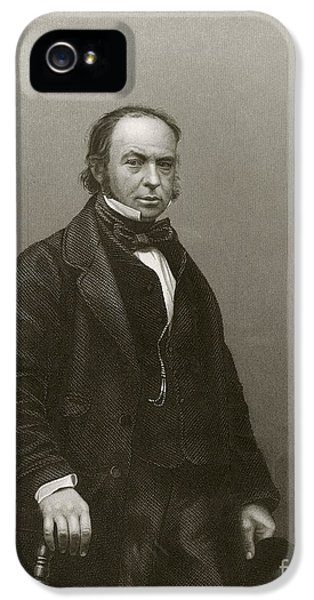 National Portrait Gallery iPhone 5 Cases - Isambard Kingdom Brunel, British Engineer iPhone 5 Case by Miriam And Ira D. Wallach Division Of Art, Prints And Photographs