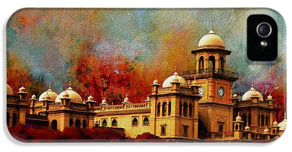 Pakistan iPhone 5 Cases - Islamia College Lahore iPhone 5 Case by Catf