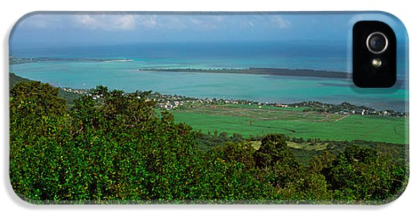 Indian Ocean iPhone 5 Cases - Island In The Indian Ocean, Mauritius iPhone 5 Case by Panoramic Images