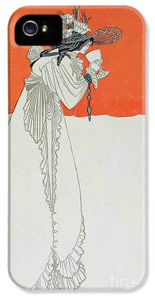 Poisonous iPhone 5 Cases - Isolde Drinking the Poison iPhone 5 Case by Aubrey Beardsley