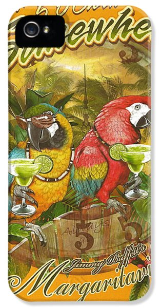 Fish iPhone 5 Cases - Its 5 OClock Somewhere iPhone 5 Case by Desiderata Gallery