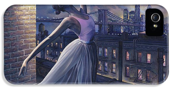 Ballerina iPhone 5 Cases - Its Never Too Late iPhone 5 Case by Dennis Goff