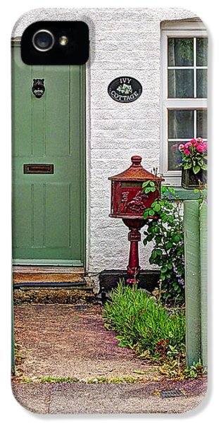 Greet iPhone 5 Cases - Ivy Cottage Welcome iPhone 5 Case by Gill Billington
