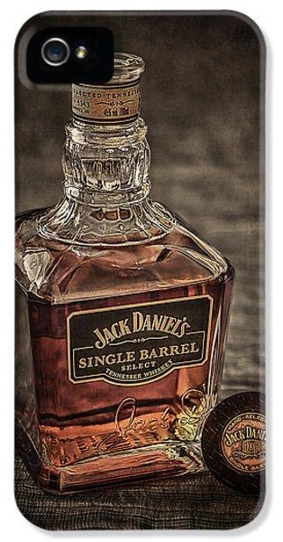 Pub iPhone 5 Cases - Jack Daniels Single Barrel iPhone 5 Case by Erik Brede