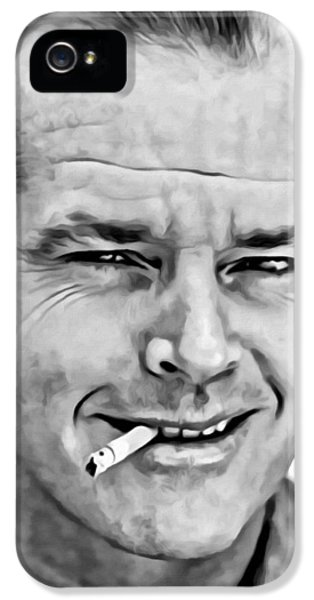 Jack Nicholson IPhone 5 / 5s Case by Florian Rodarte