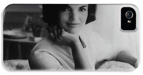 First Lady iPhone 5 Cases - Jackie Kennedy  1961 iPhone 5 Case by Daniel Hagerman