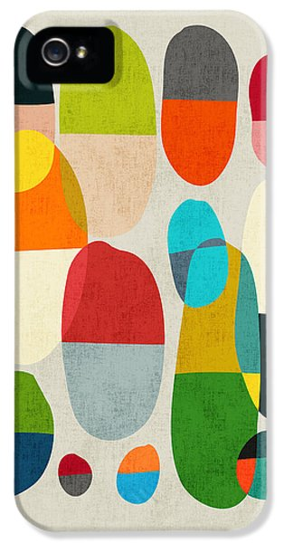Color iPhone 5 Cases - Jagged little pills iPhone 5 Case by Budi Satria Kwan