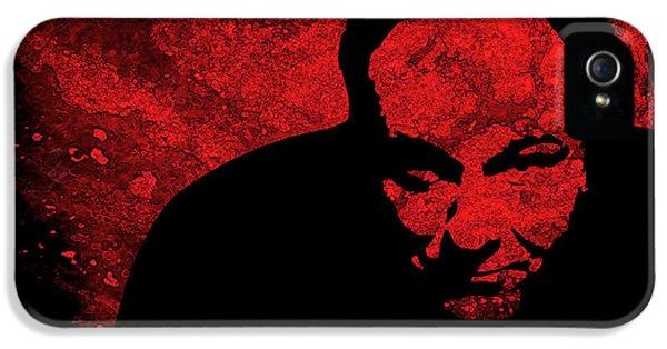 James Gandolfini iPhone 5 Cases - James Gandolfini iPhone 5 Case by Studio Beat it