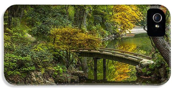 Gardens iPhone 5 Cases - Japanese Garden iPhone 5 Case by Sebastian Musial