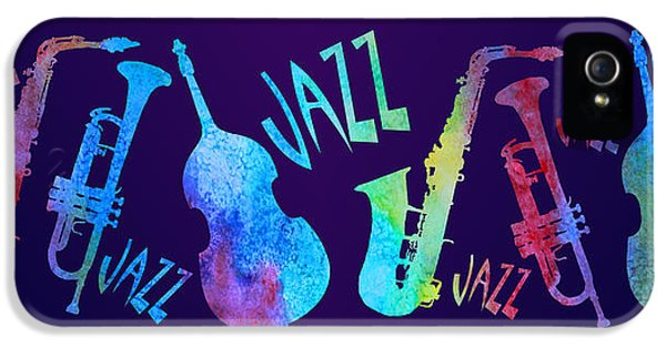 Jazzy Combo IPhone 5 / 5s Case by Jenny Armitage