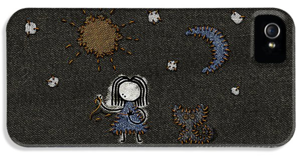 Stitch iPhone 5 Cases - Jeans Stitches iPhone 5 Case by Gianfranco Weiss