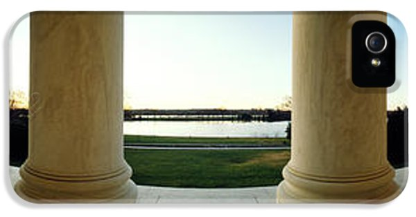 Jefferson Memorial Washington Dc IPhone 5 / 5s Case by Panoramic Images