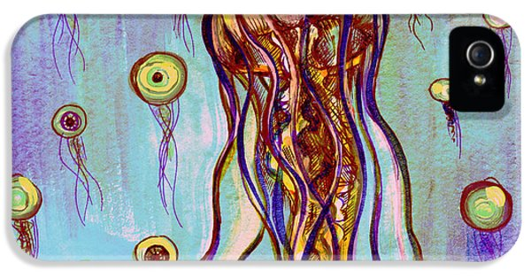 Eyeball iPhone 5 Cases - Jelly Vision iPhone 5 Case by Shadia Zayed