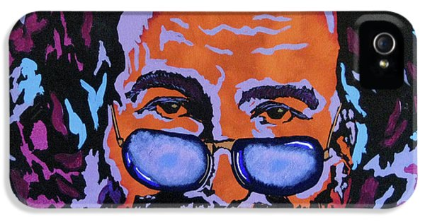 Music Legend iPhone 5 Cases - Jerry Garcia-Its A Me Thing iPhone 5 Case by Bill Manson