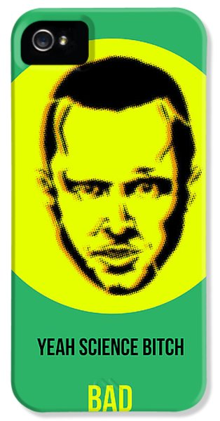 Bad iPhone 5 Cases - Jesse Breaking Bad Poster 2 iPhone 5 Case by Naxart Studio