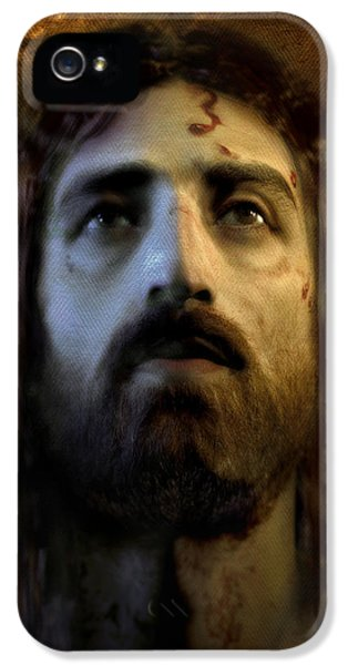 Face iPhone 5 Cases - Jesus Alive Again iPhone 5 Case by Ray Downing