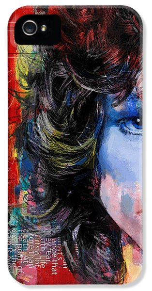The Americas iPhone 5 Cases - Jim Morrison iPhone 5 Case by Corporate Art Task Force