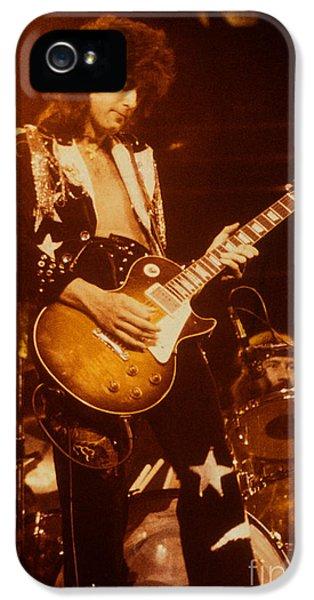 Jimmy Page 1975 IPhone 5 / 5s Case by David Plastik