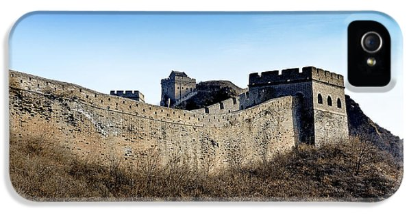Nl iPhone 5 Cases - Jinshanling Section - Great Wall of China iPhone 5 Case by Brendan Reals