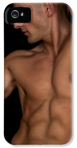 Erotic Male iPhone 5 Cases - Jio iPhone 5 Case by Mark Ashkenazi