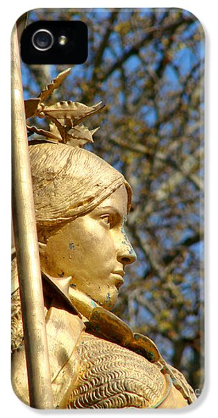 Arc iPhone 5 Cases - Joan of Arc iPhone 5 Case by Olivier Le Queinec