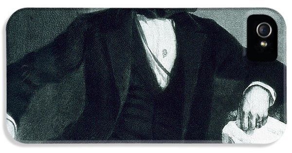 President Of The United States iPhone 5 Cases - John Tyler iPhone 5 Case by George Healy