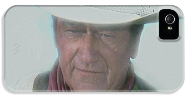Monument iPhone 5 Cases - John Wayne iPhone 5 Case by Randy Follis